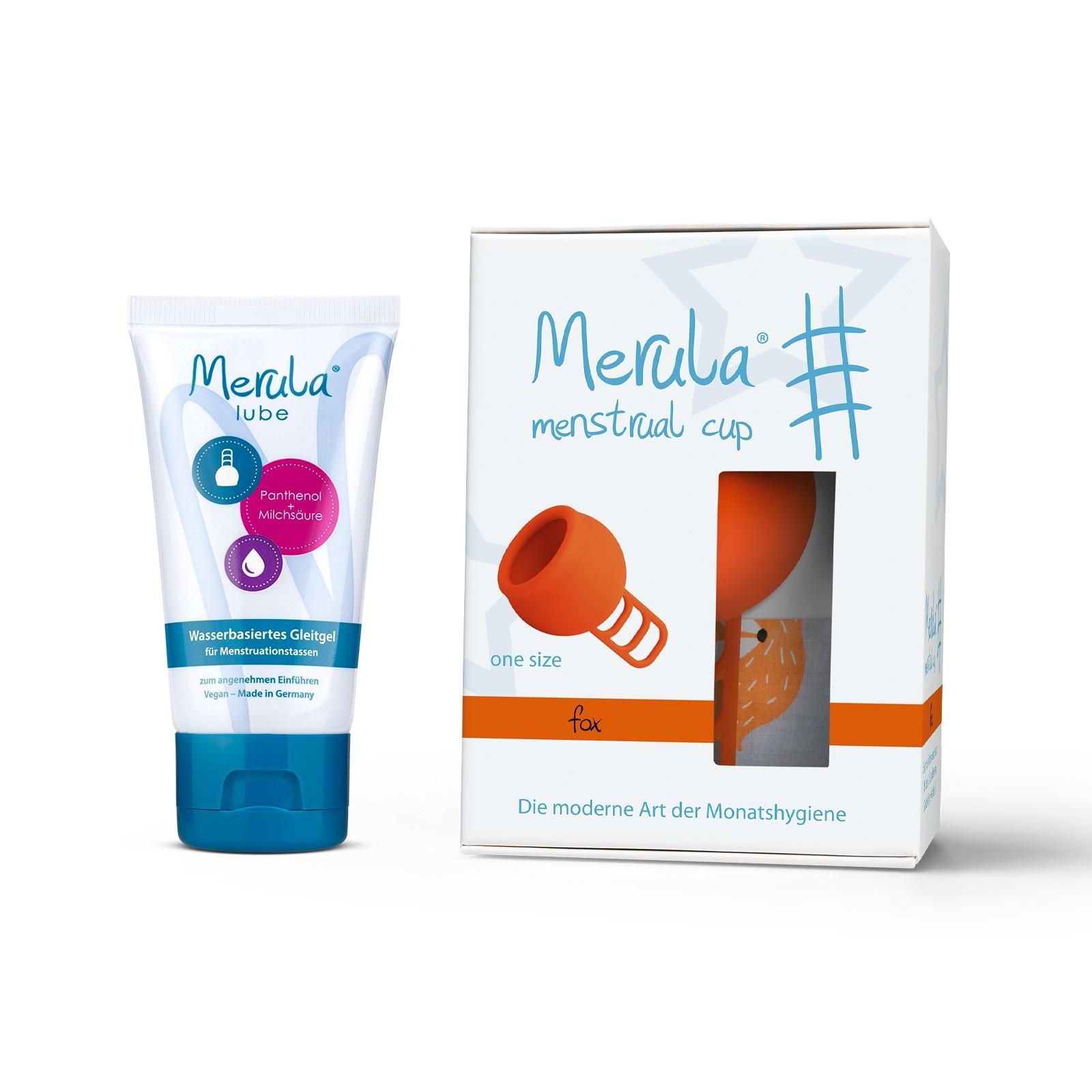 Merula Merula cup met Merula lube - fox oranje