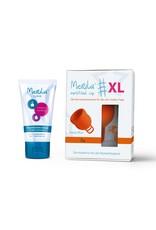 Merula Merula cup XL met Merula lube - fox oranje