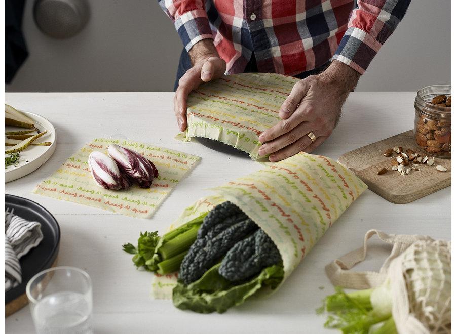 Vegan Food wraps medium pakket - 3 stuks