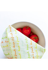 Vegan food wraps Beeswax Food wraps medium package - 3 pieces S - M - L - medium package - reusable and durable - Copy