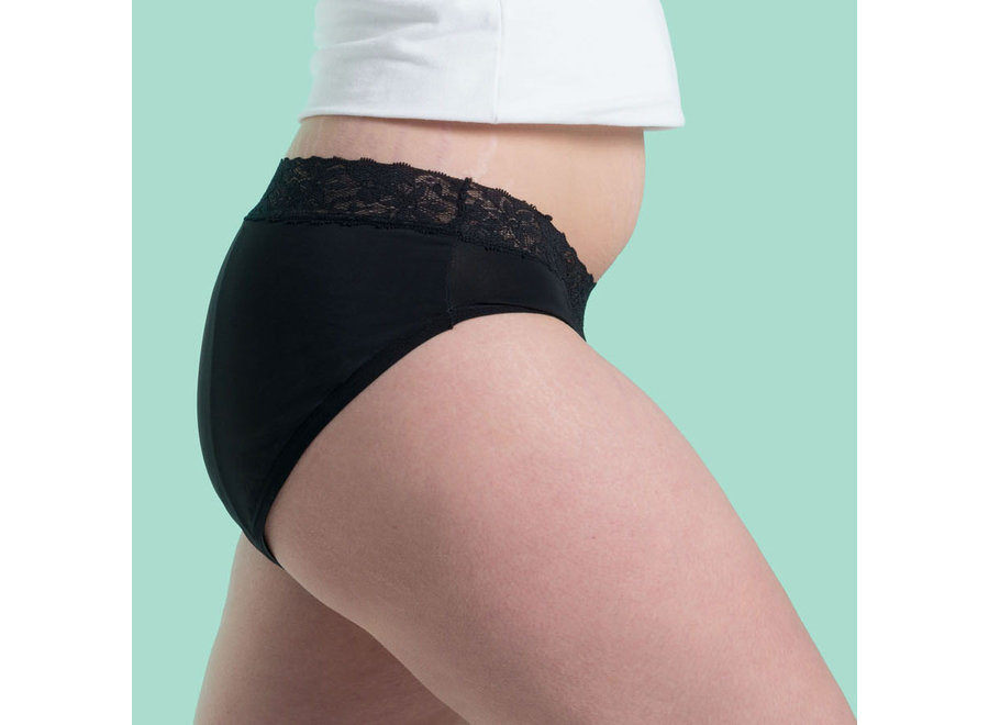Cheeky Pants menstrual underwear Feeling Pretty - black