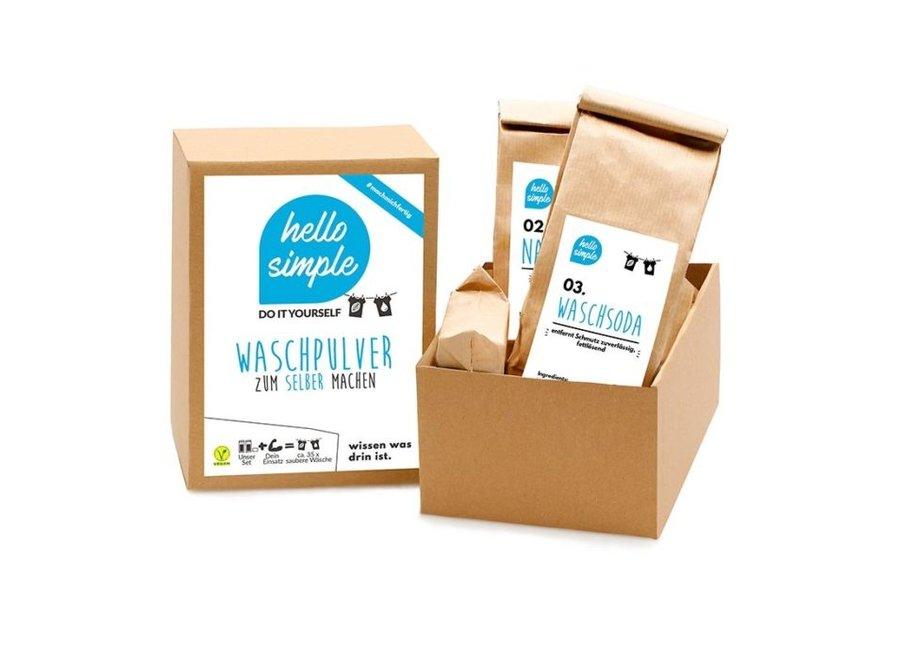 DIY kit - Biologische wasmiddel - 700 gram - 35 wasbeurten