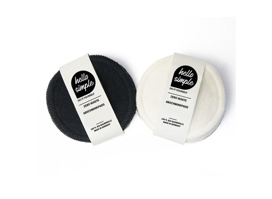 Zero-Waste Make-up Reiningingspads - 5 Stuks