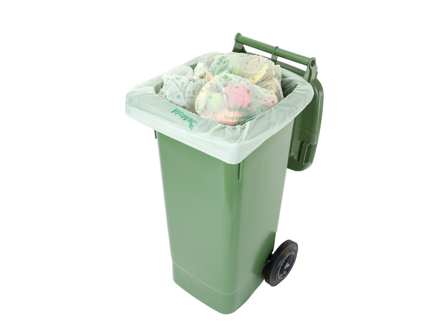 Composteerbare containerzakken 10 x 120 liter