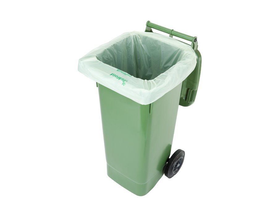 Compostable container bags 10 x 120/140 liters