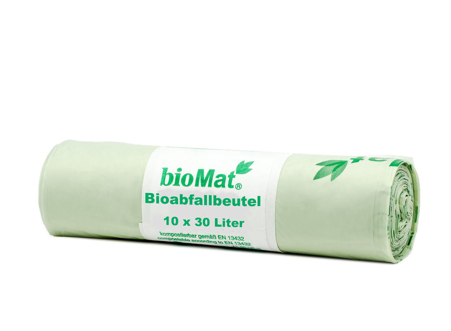 Compostable trash bags 10 x 30 liters