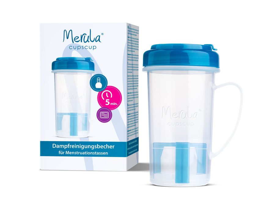 Merula Cupscup - sterilizer - microwave cleaner for menstrual cup