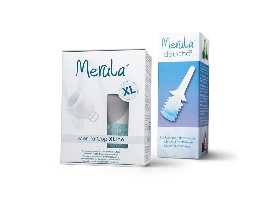 Merula Cup XL + Douche - 4 Kleuren
