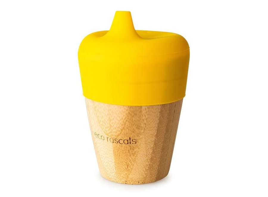 Bamboo spout cup - 5 colors