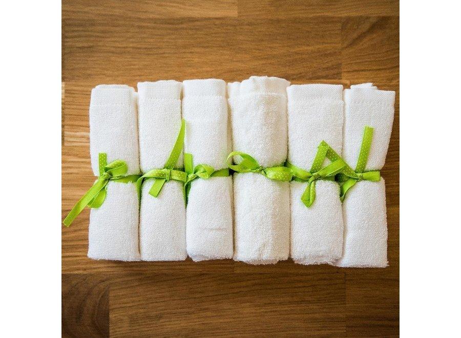 Bamboe wasbare doekjes - billendoekjes - 6 stuks