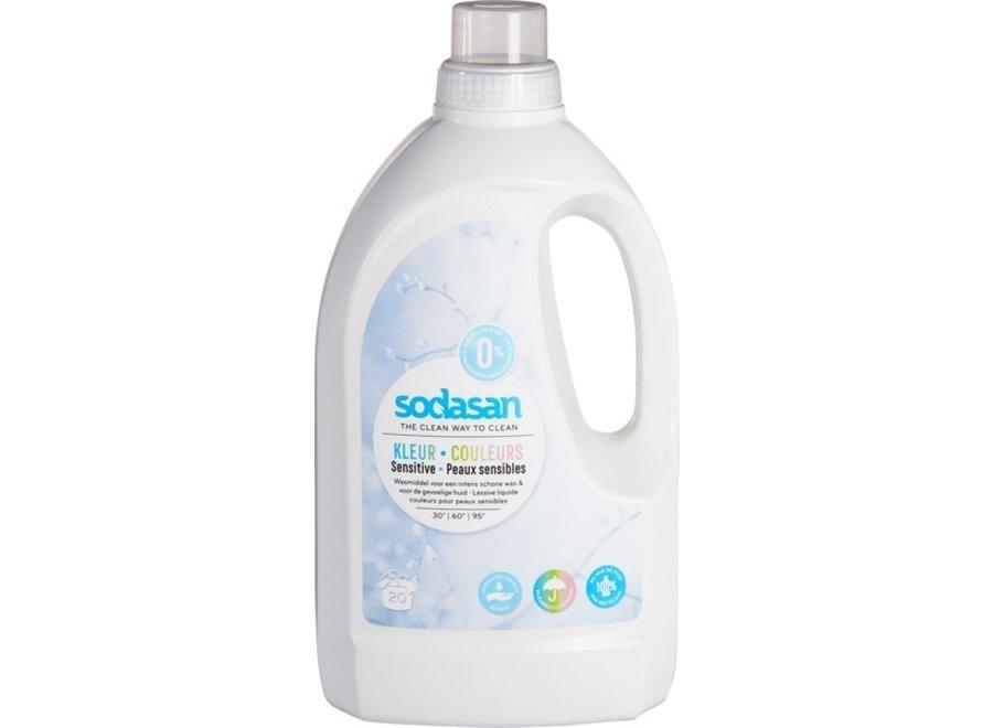 Liquid detergent colour sensitive 1.5 liters