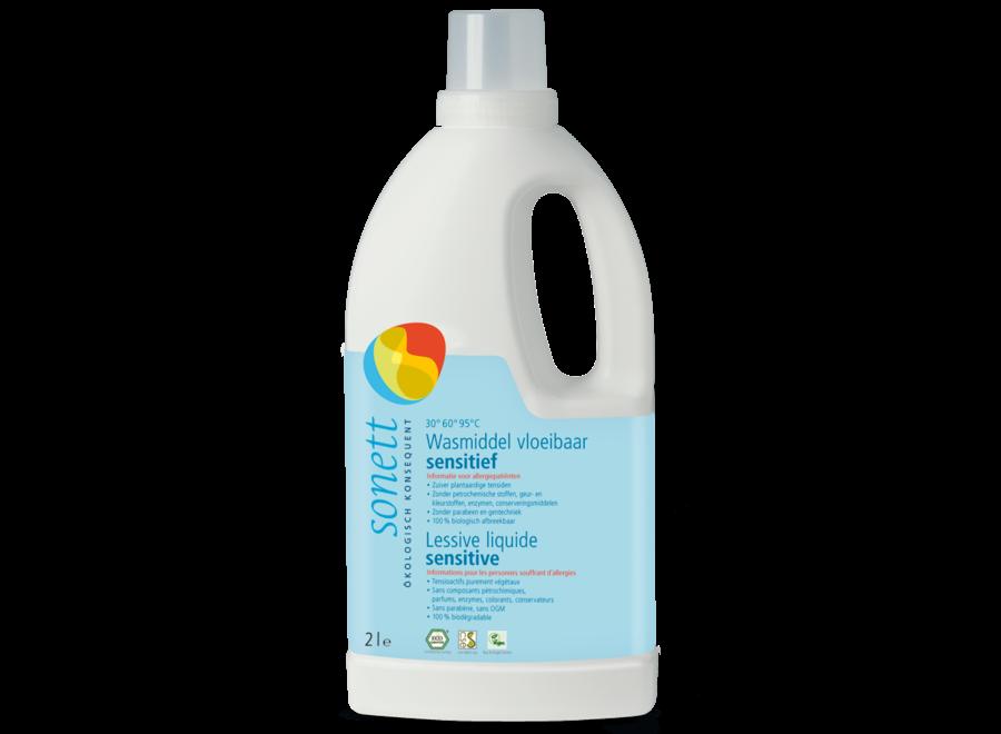 Vloeibaar wasmiddel voor gevoelige stoffen 2 liter
