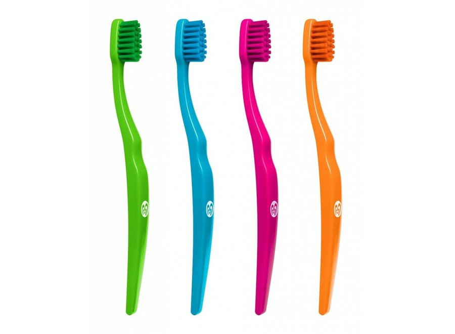 Ecological children's toothbrush - 4 colors