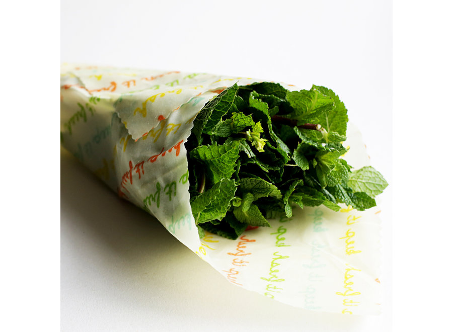 Vegan Food wraps large package - 5 pieces