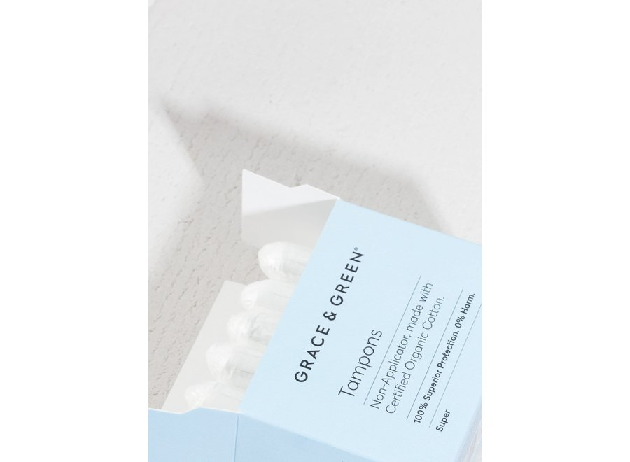 Tampons super organic cotton - 18 in a box