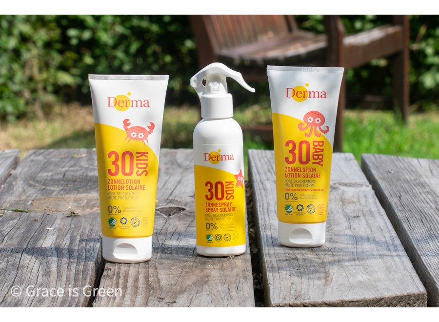 Derma Eco Sun Kids sun lotion SPF30