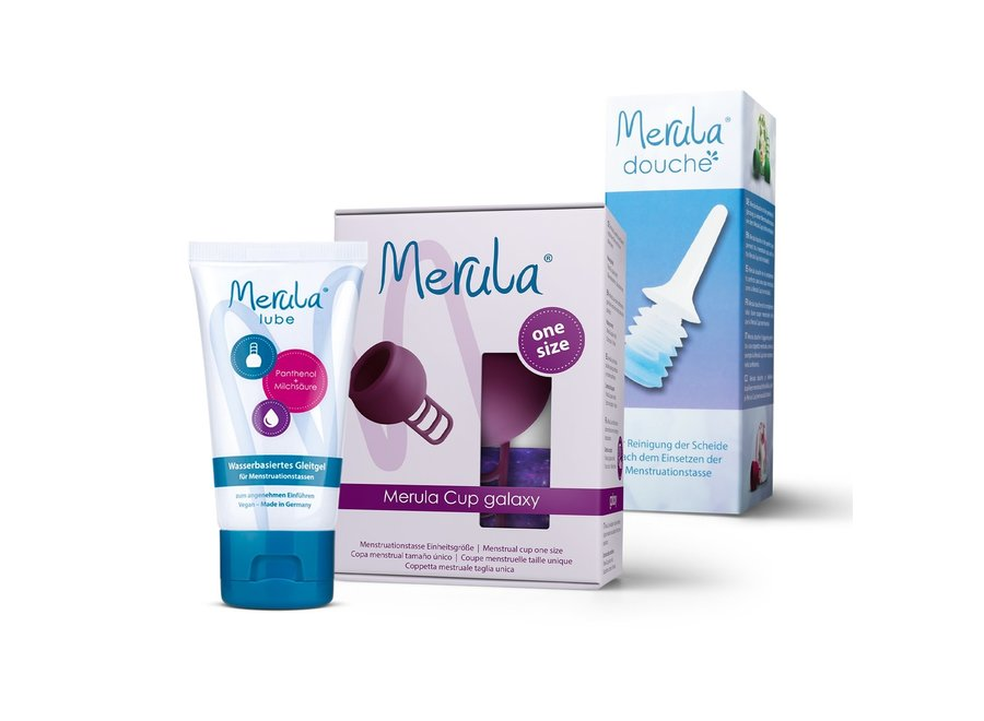 Merula Cup + Shower + Lube - 7 Colours