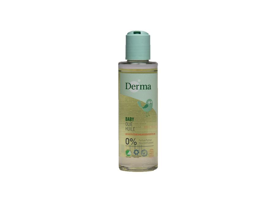 Derma Eco Baby Olie - een zachte en hydraterende badolie