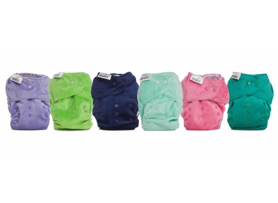 Washable Diaper All-in-Two - 7 colours