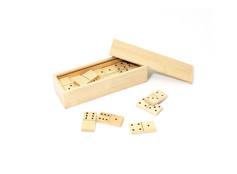 Pandoo bamboe domino - houtvrij en plasticvrij
