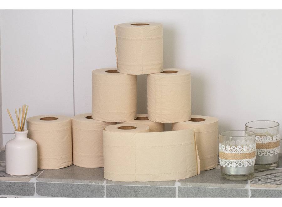 Pandoo toilet paper bamboo - 8 or 96  rolls