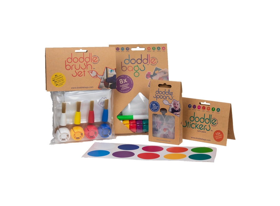Box complete - incl. Squeeze bags 100 ml
