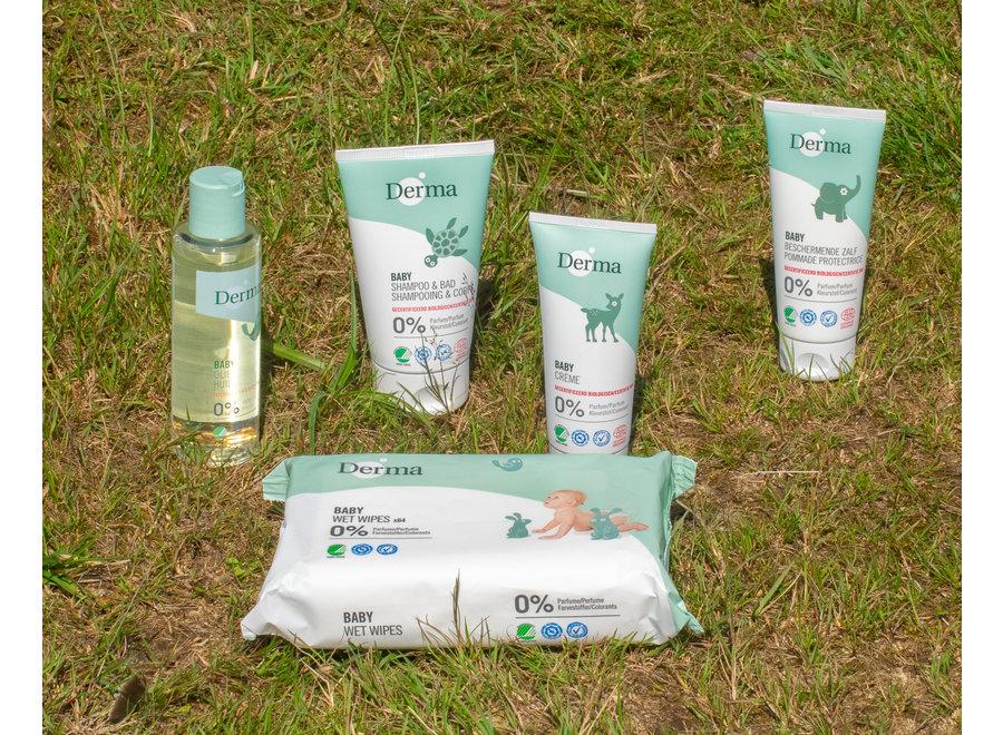 Derma Eco Baby Shampoo & lichaam - een licht schuimende zeep
