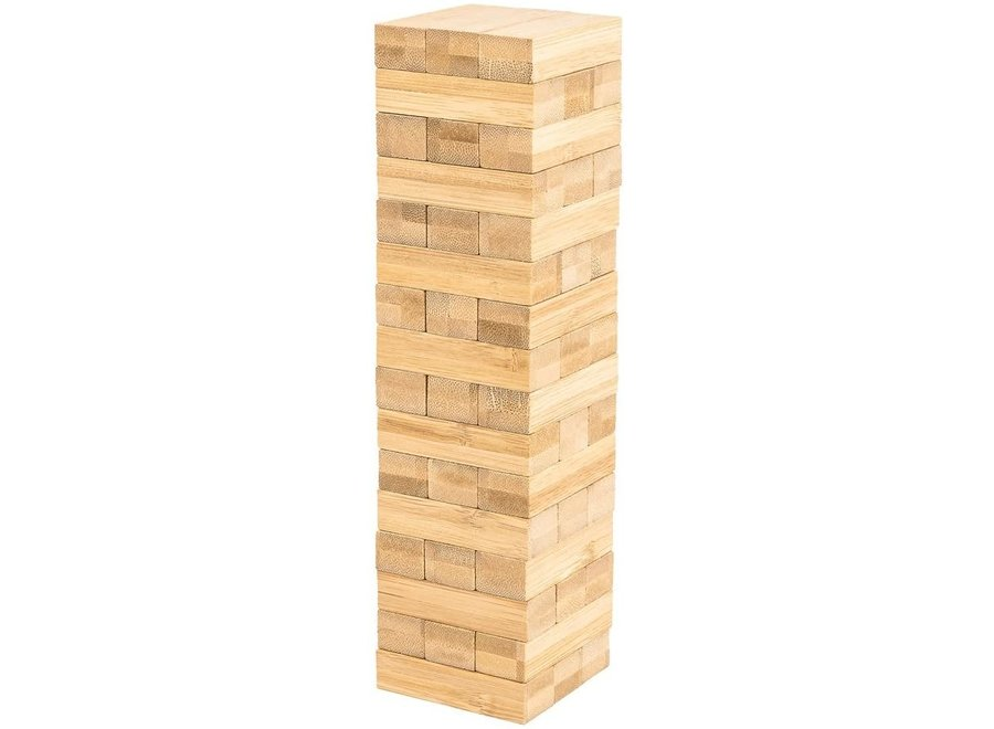 Pandoo bamboo wobble tower - wood free and plastic free
