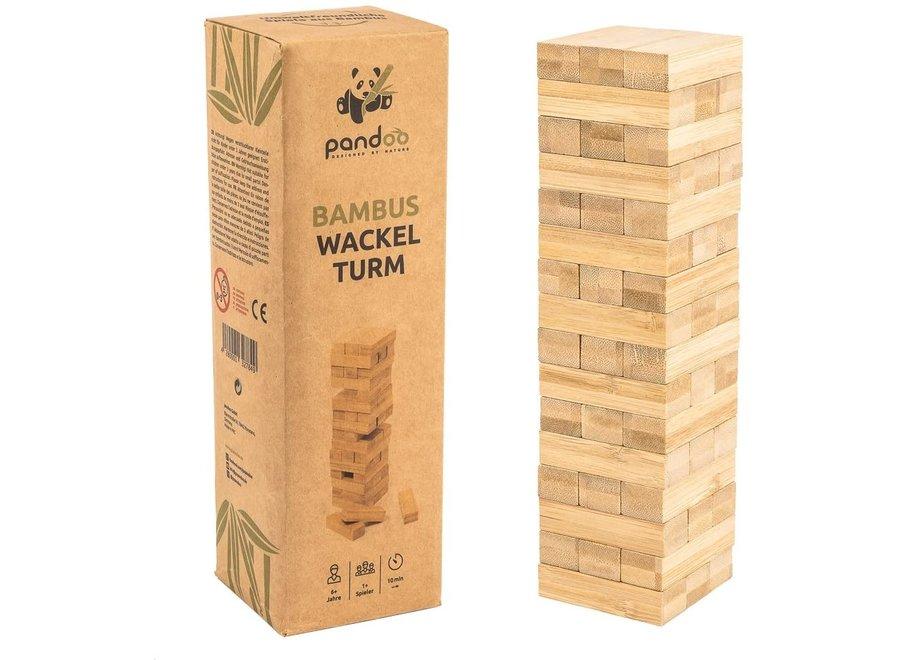 Pandoo bamboe wiebeltoren - houtvrij en plasticvrij