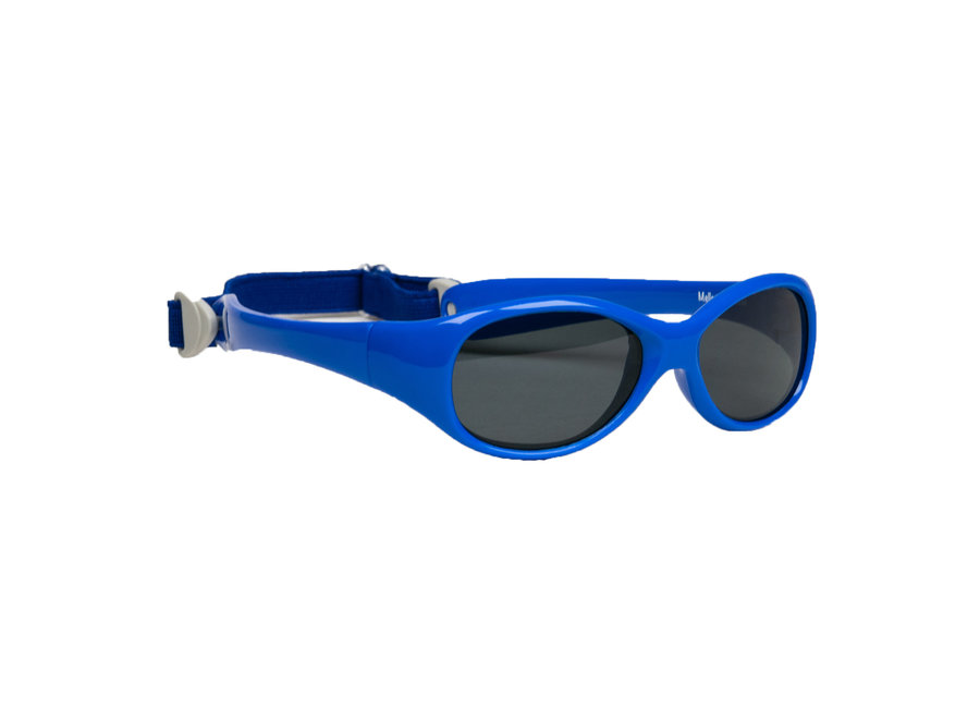 Melleson Eyewear sunglasses baby child 0-2 years - kinderzonnebril- Blue