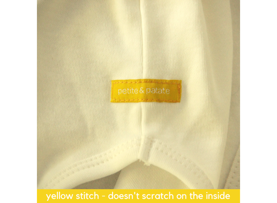 Romper korte mouwen - the yellow one