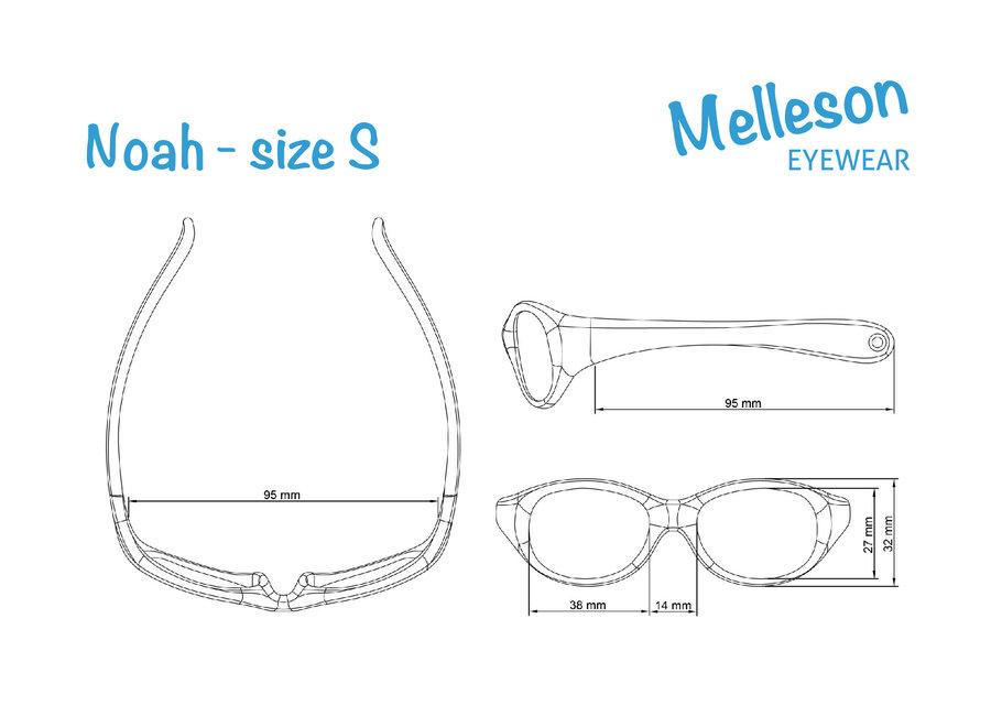 Melleson Eyewear sunglasses baby child 0-2 years - children's sunglasses - Pink