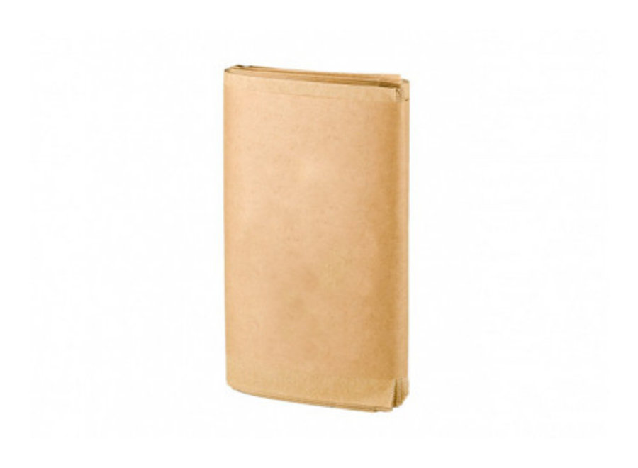 Compostable paper bags - 50 x 10 liter