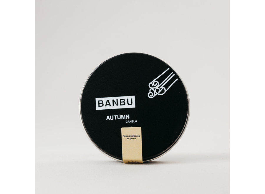 Banbu powdered toothpaste | 3 different flavors