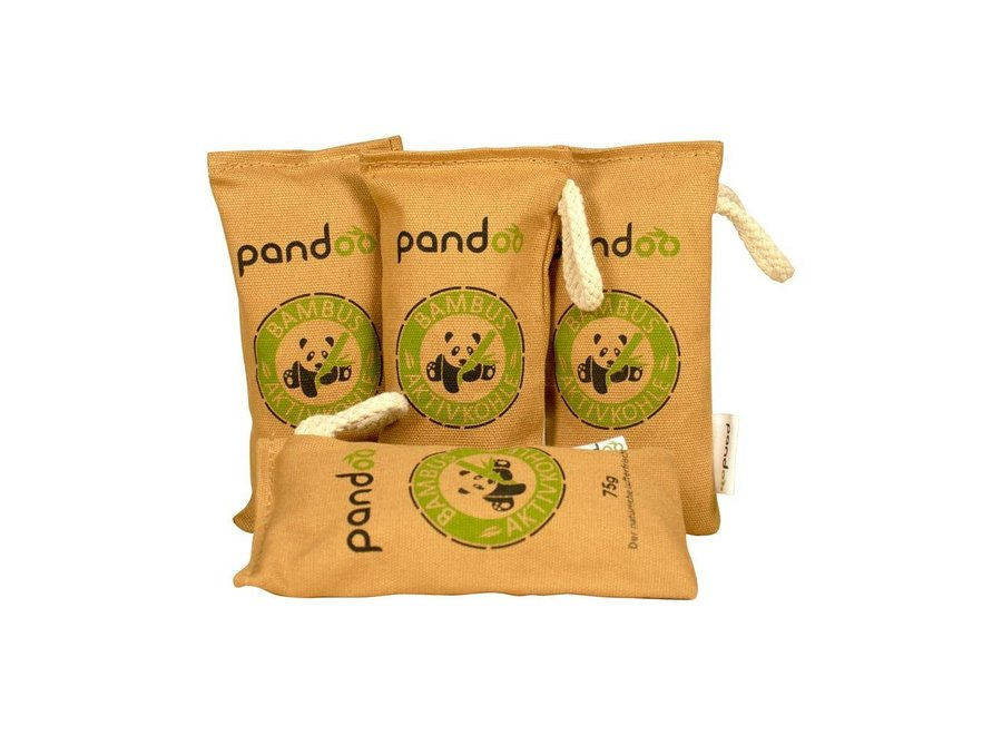 Bamboo natural air purifier - 4 pieces - Small