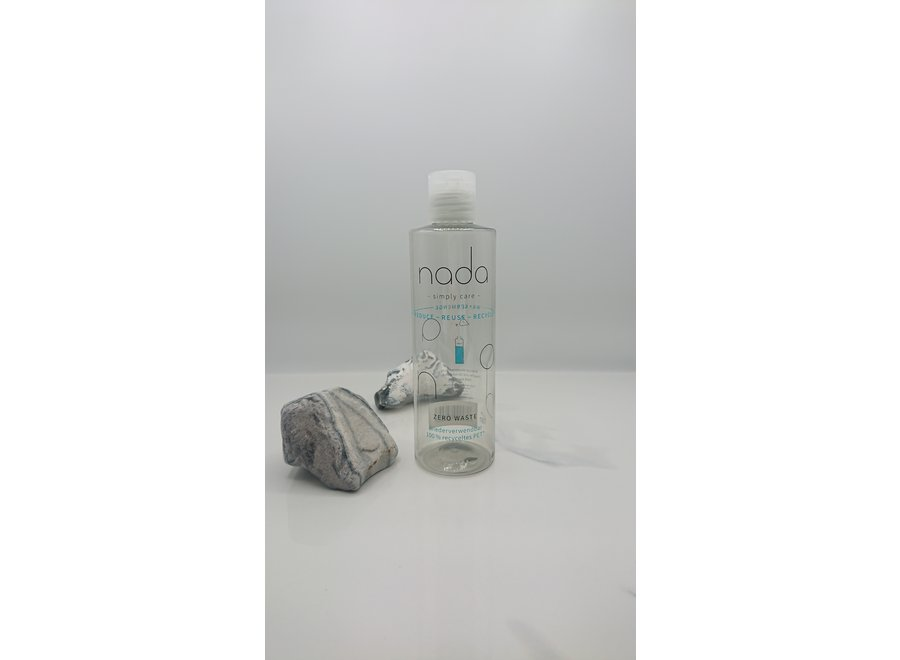 Refillable RPET bottle with lid -200 ML - Recycled plastic