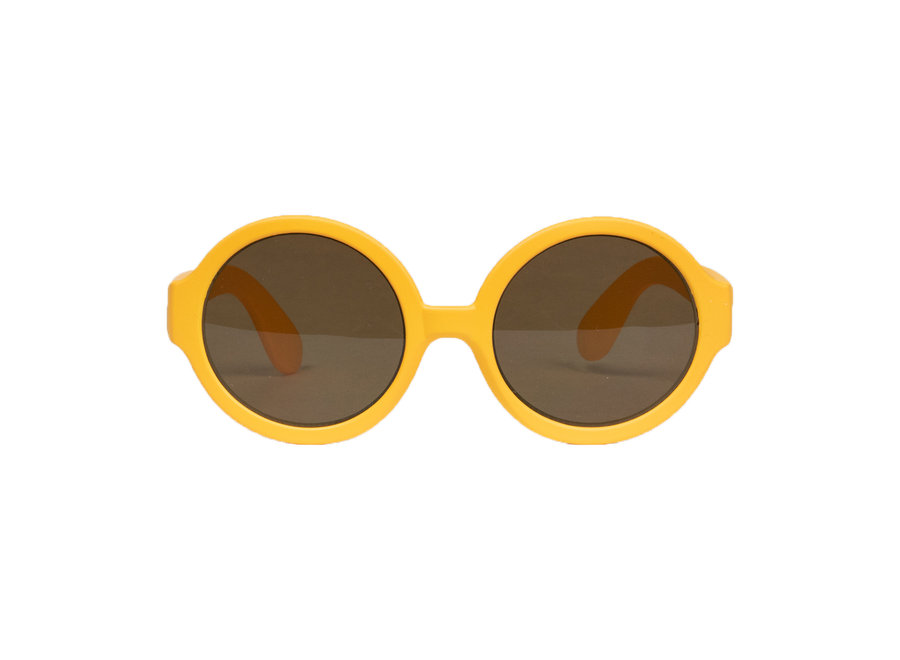 Children's sunglasses Lenny 3-7 years - size M - Orange / Yellow