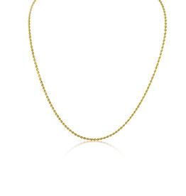 18 karaat geel goud touw ketting
