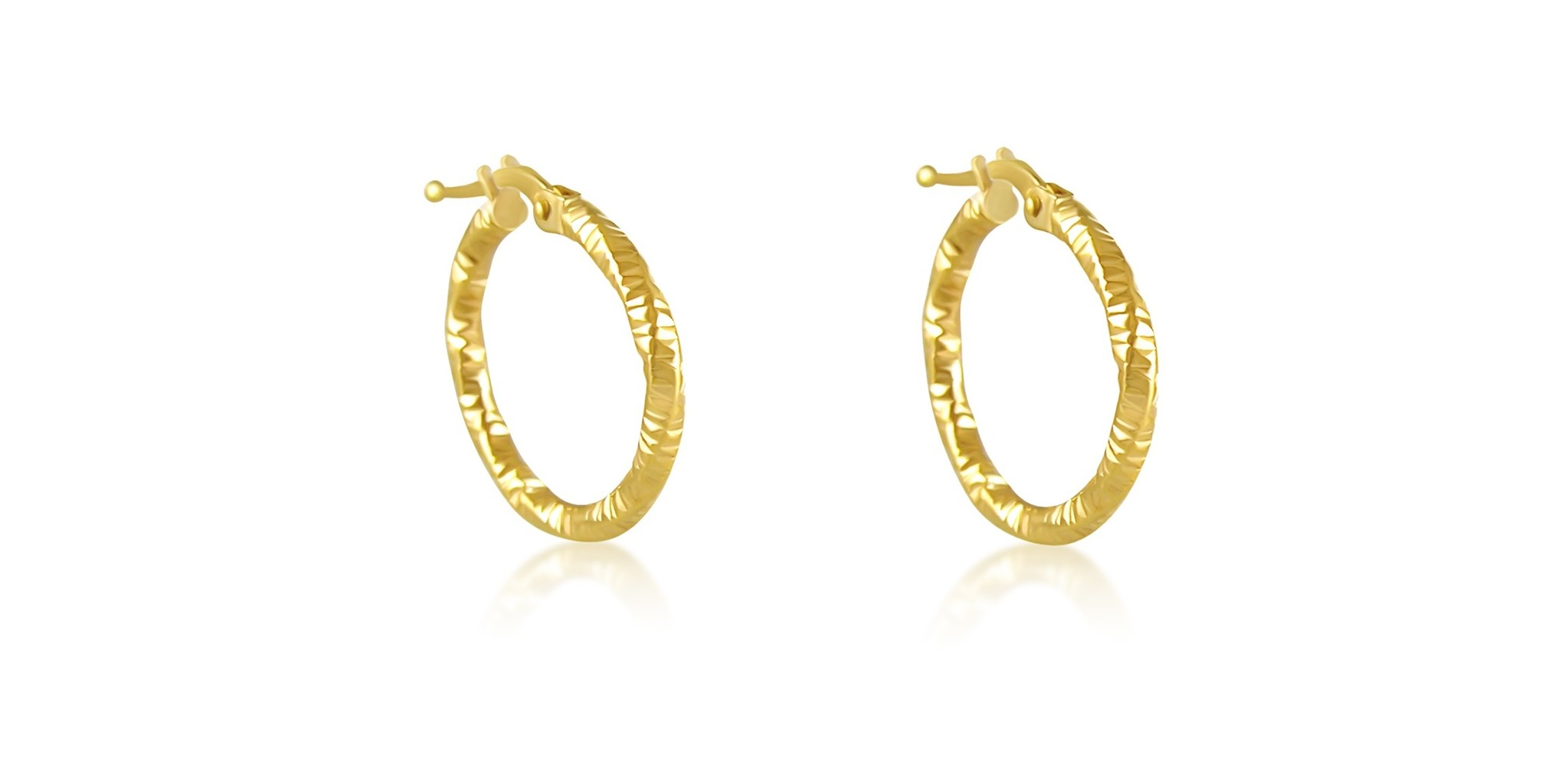 401a51bdf062c 18 karat yellow gold earrings