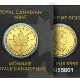 24 karat gold royal canadian mint fine gold