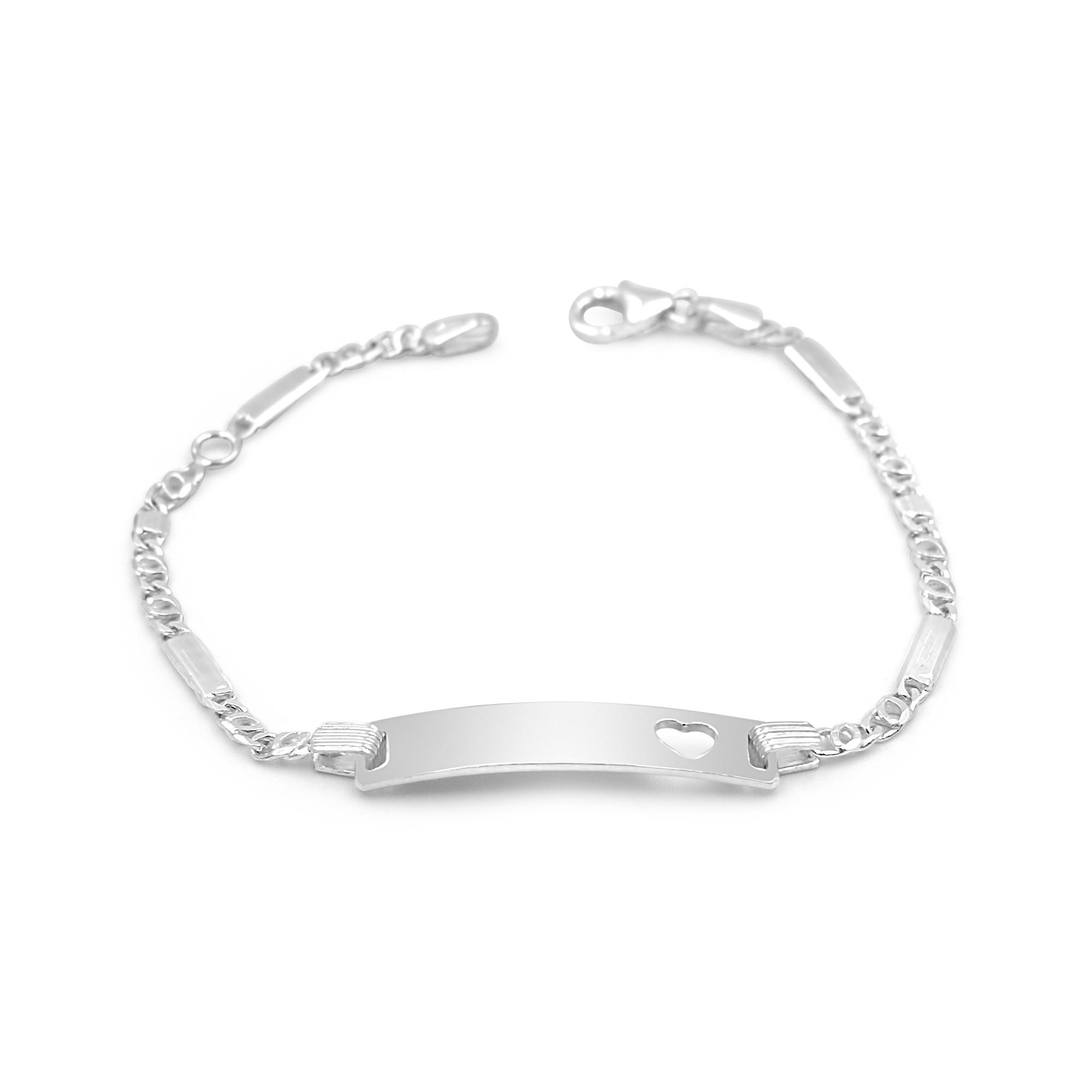 Silver baby bracelet