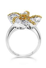 18k wit goud ring met 1.50 ct diamanten