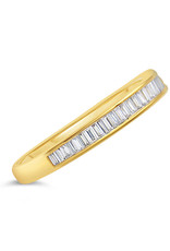 18k geel goud ring met 0.30 ct diamanten
