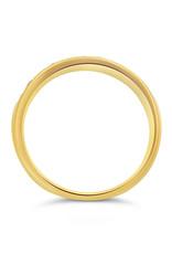 18k geel goud ring met 0.52 ct diamanten