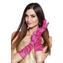 Roze Handschoenen Lang
