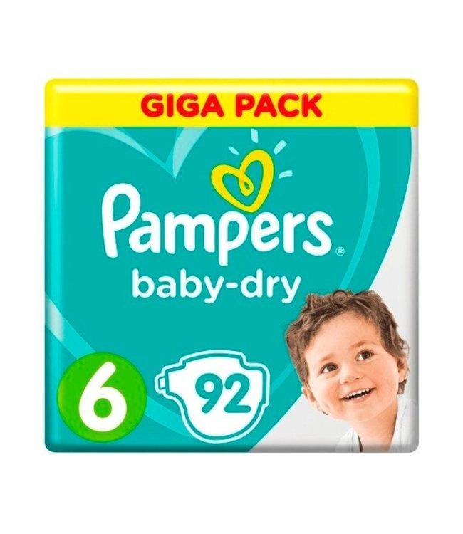 Pampers Baby Dry 6 - 92 stuks