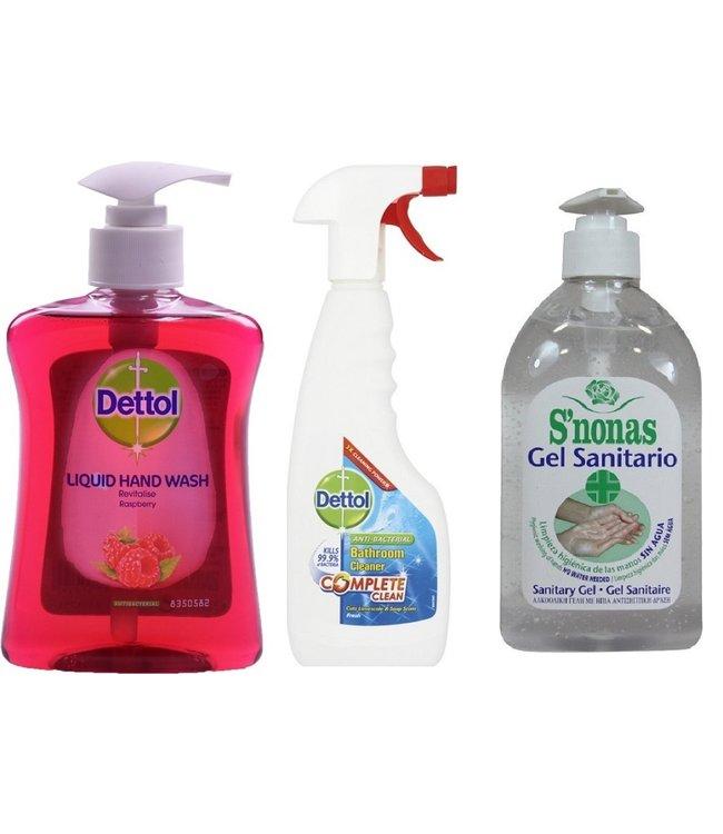 dettol Schoonmaak voordeel pakket Dettol Anti Bacteriën