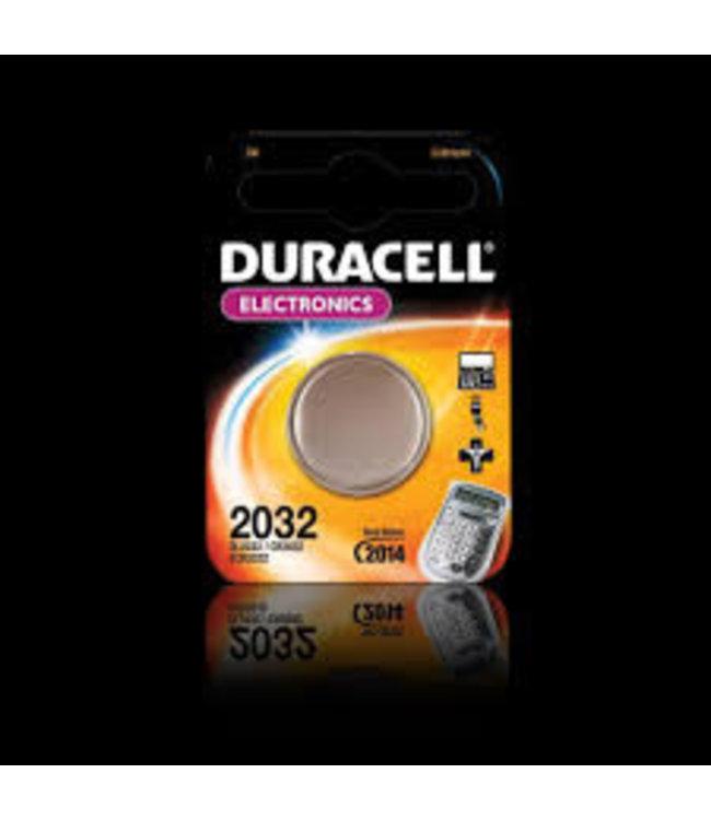 Duracell Knoopcel 2032 ( 2 stuks in blister)