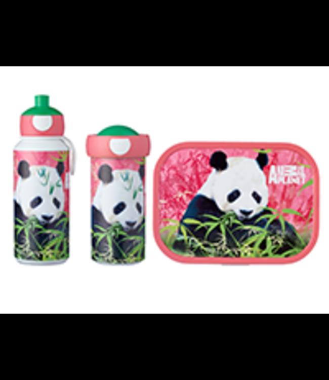 Mepal Animal Planet Panda Lunchset 3 Delig