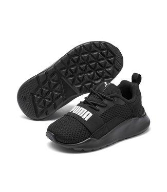 Puma Babyschoenen Wired zwart